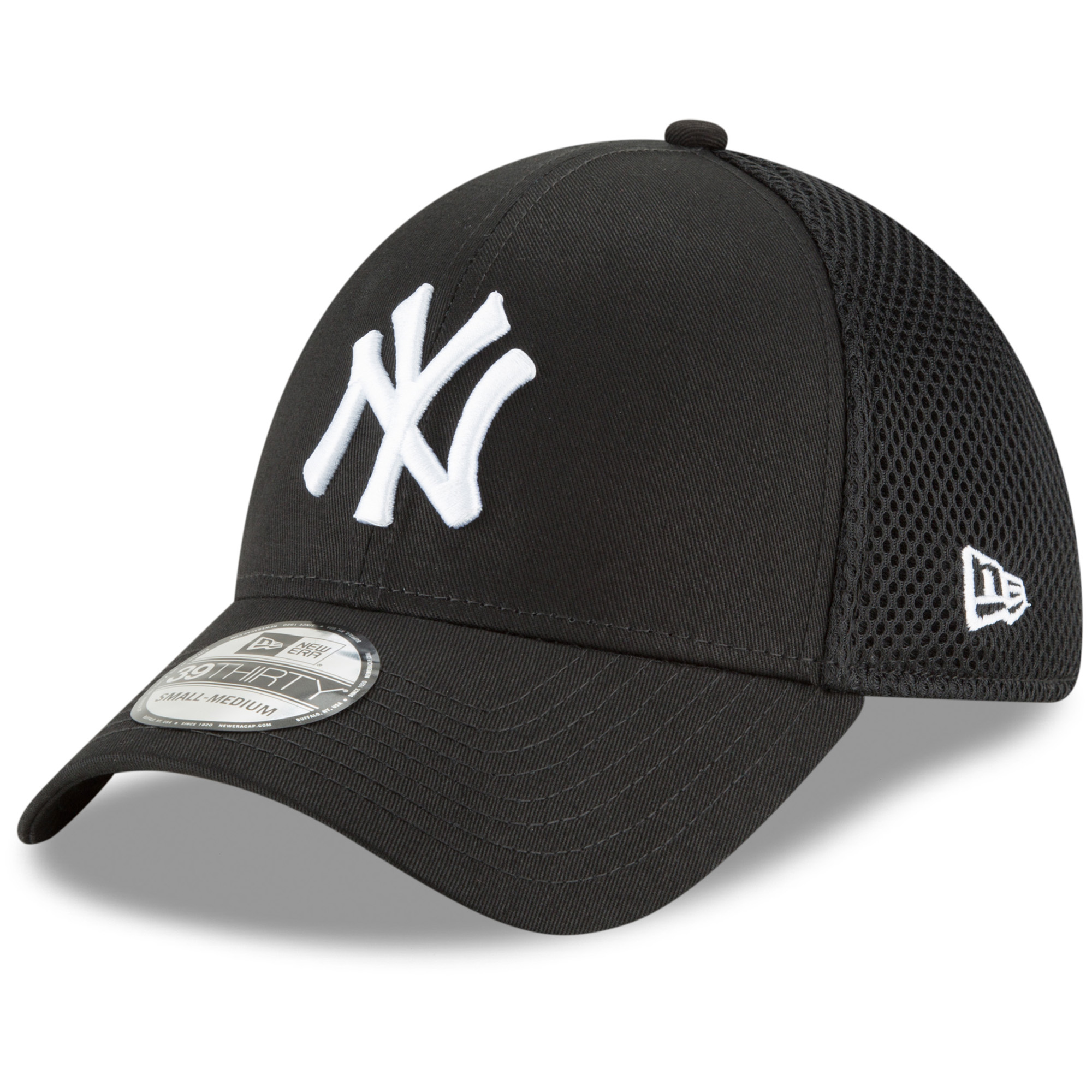 New York Yankees New Era Neo 39THIRTY Unstructured Flex Hat- Black