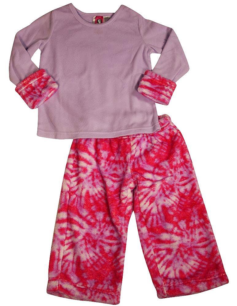 Pijayz by Saras Prints Little Girls 2 Piece Pajama Set