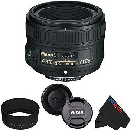 Nikon 50mm f/1.8G Auto Focus-S NIKKOR FX Lens for Nikon Digital SLR Cameras ()