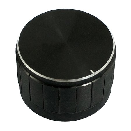 Unique Bargains 24mm x 16mm Plastic Potentiometer Control Volume Rotary Knob Cap - Volume Control Cap