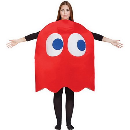 Pacman And Ghost Costumes (Blinky Ghost Costume - Pac)
