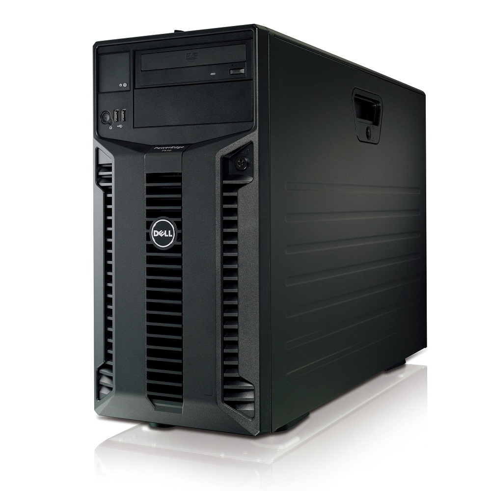 "Refurbished Dell T410 6 x 3.5"" HS X5650 6C 2.66Ghz 64GB 6x 300GB 15K H700 2x 580W"