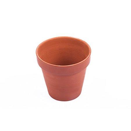 Mr. Garden Clay Pots 3.5-Inch,Terracotta Pot Clay Ceramic Pottery Planter Cactus Flower Pots Succulent Pot- Great for Plants,Crafts,Wedding Favor ,2Pack - Ceramic Flower