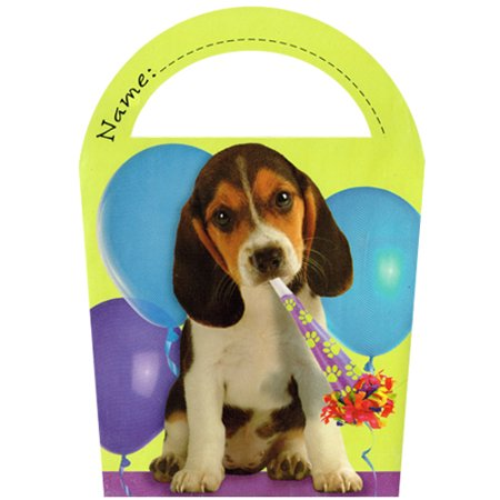 Puppy Party Favor Boxes (6ct) - Party Puppy