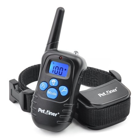 Petrainer PET998DRB1 Rechargeable Dog Shock Collar with Remote Dog Training Collar with Beep Vibration Shock Collar for Dogs Small Medium Large,1000ft Remote