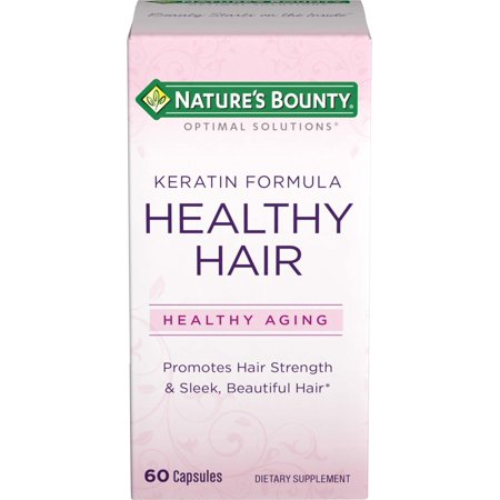 Natures Bounty Optimal Solutions Healthy Hair Keratin Formula (Rechargeable Healthy)