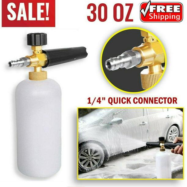 Snow Foam Lance Cannon Soap Bottle Sprayer For Pressure Washer Gun Jet Car Wash Walmart Com Walmart Com