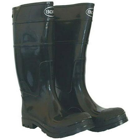 6a15594b0c403 Boss Raingear 2KP200112 Size 12 Black Men's PVC Knee Boot