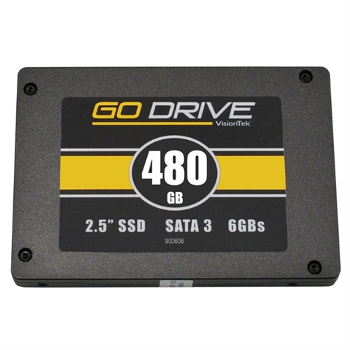 "VisionTek GoDrive 480 GB 2.5"" Solid State Drive - Internal 900606"