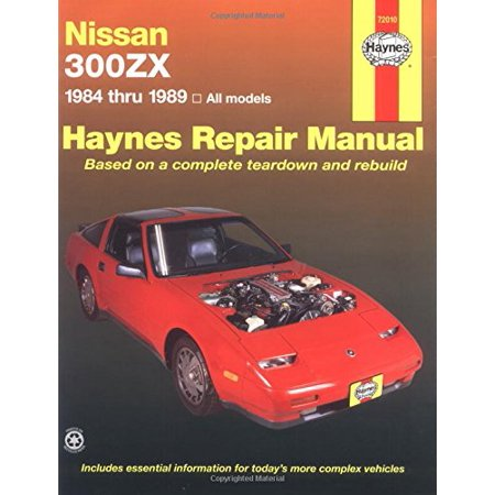 Nissan 300ZX, 1984-1989 (Haynes Manuals)