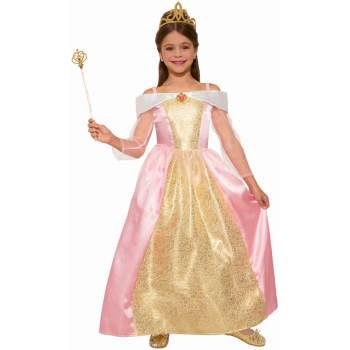 Girls Princess Paisley Rose Halloween Costume (Halloween Costumes Mario Luigi Princess Peach)