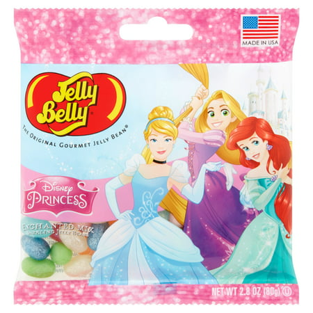 Jelly Belly, Sparlking Enchanted Disney Princess Mix Jelly Beans, 2.8 Oz](Yellow Jelly Beans)