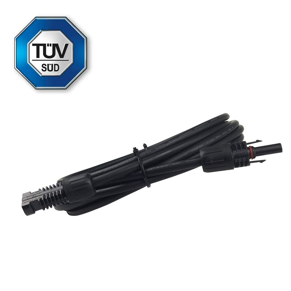 3-20Ft 10 AWG Solar Panel Controller Connector Adaptor Wire MC4 Extension Cables