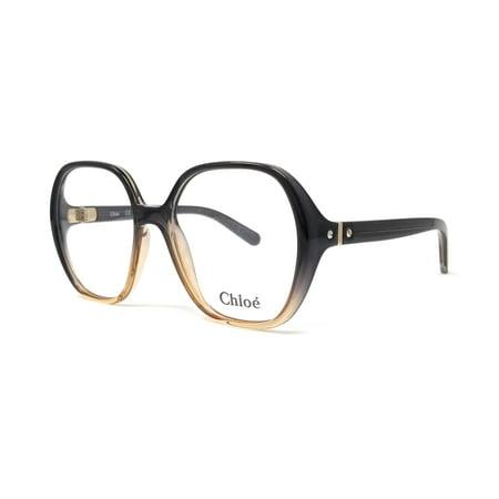 CHLOE Eyeglasses CE2704 040 Gradient Grey-Turtledove Rectangle (Gradient Eyeglass Frames)