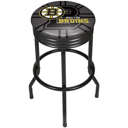 Amazing Trademark Global Nhl1006 Bb Boston Bruins Nhl Black Ribbed Andrewgaddart Wooden Chair Designs For Living Room Andrewgaddartcom