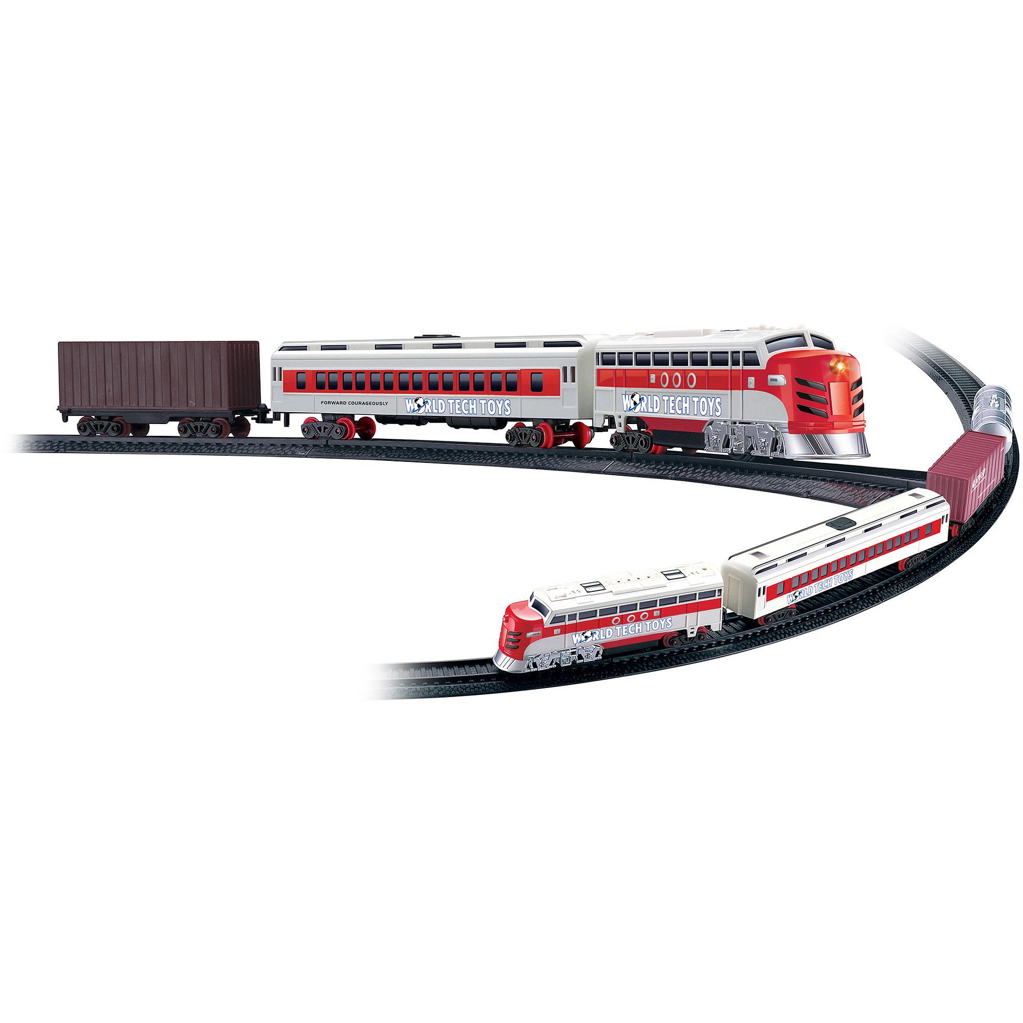 World Tech Toys Electric Luxury Lights & Sounds Train Set