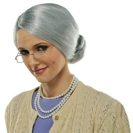 Grandma Glasses Adult Costume Accessory
