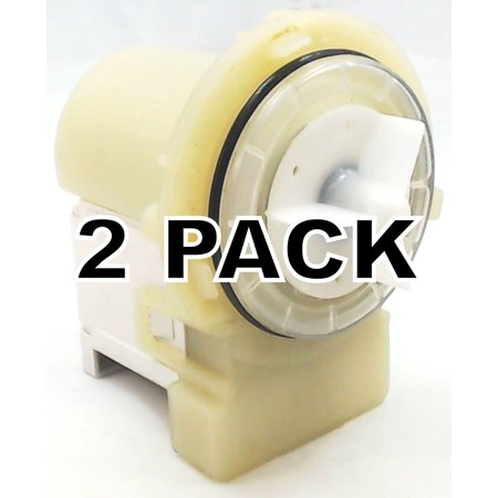 2 Pk, Clothes Washer Water Pump for LG, AP5328388, PS3579318, 4681EA2001T Brand New, Pack of 2, washing machine water pump replaces LG Appliances, 4681EA2001T.