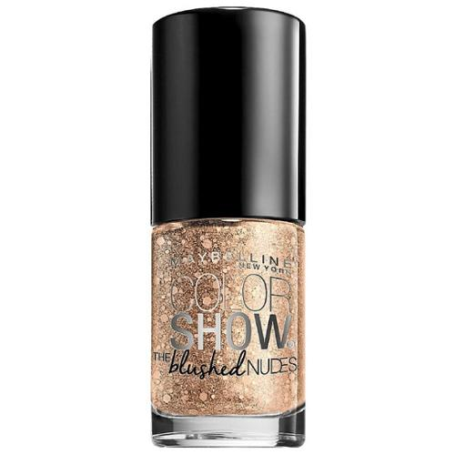Maybelline New York Color Show The Blushed Nudes Nail Polish, Pearl Gem 0.23 oz (Pack of 3)