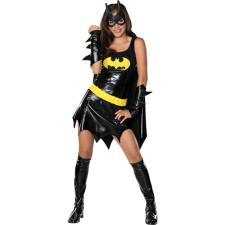 batgirl teen halloween costume size teen girls one size - Girls Teen Halloween Costumes