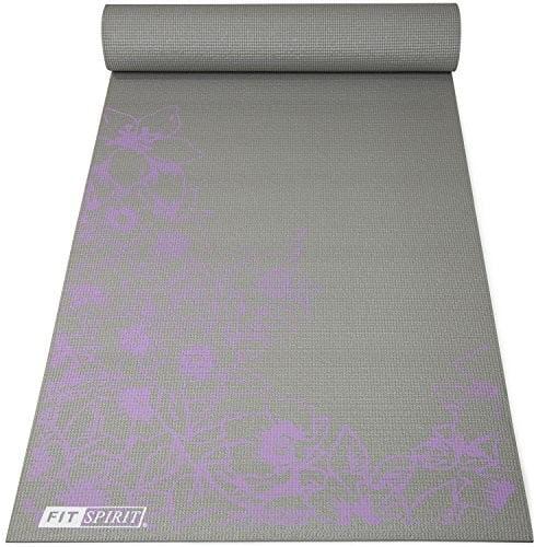 Fit Spirit Printed Yoga Mat, 6mm