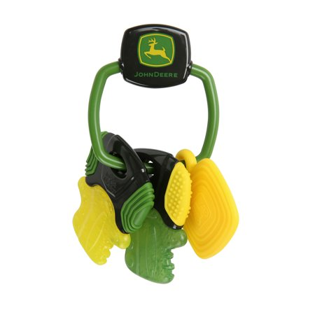 Bright Starts Bs John Deere Crank 'er Up Teether - Teether Keys