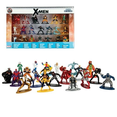 X-Men Marvel Nano Metalfigs Mini-Figures 20-Pack (Number of Pieces per case: 6) by