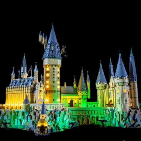 LIGHTING KIT FOR Hogwarts Castle (BUILDING SET NOT INCLUDED) 71043 By Light My Bricks