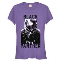 Marvel Juniors' Black Panther 2018 Portrait T-Shirt