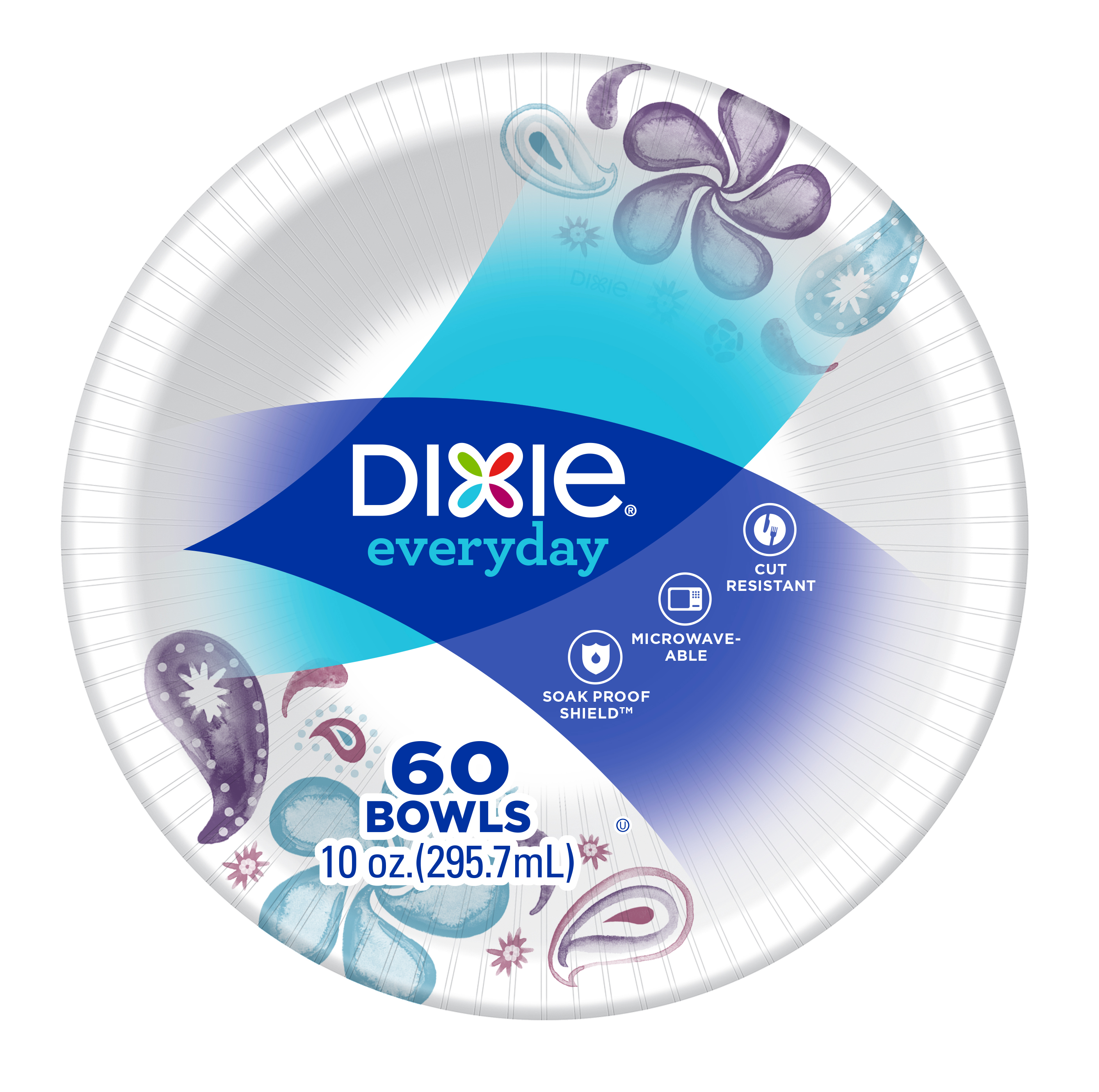 Dixie Everyday 10oz Bowls, 60ct