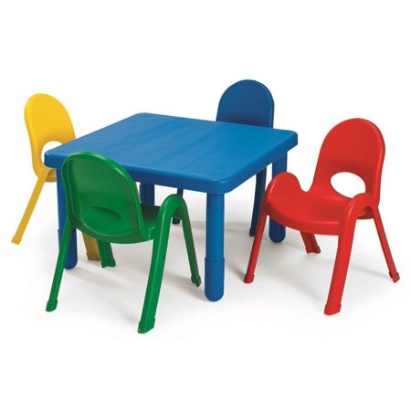 Pc MyValue Square Preschool Table And Chair Set