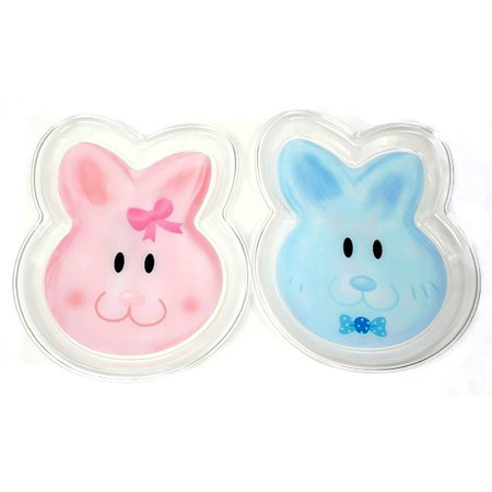 Easter Snack Ideas (Clear Plate Easter Bunny Face Snack 10.5