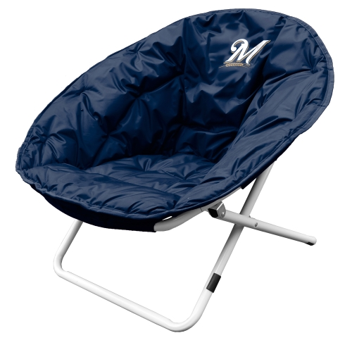 Milwaukee Brewers Sphere Chair - Navy - No Size