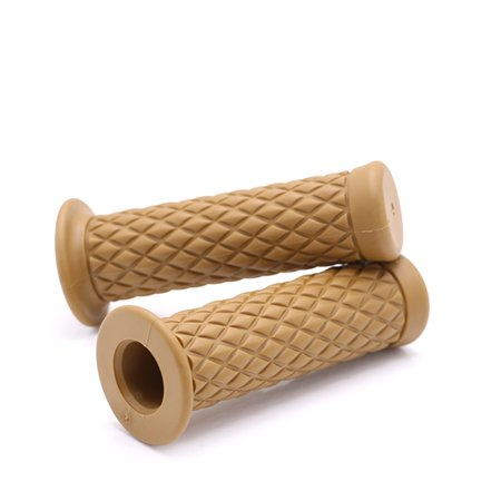 Universal Antiskid coffee Modifying handlebar grips Rubber Handle Sleeve For Motorcycle Electric Motorcycle Electric Bicycle - image 1 of 2