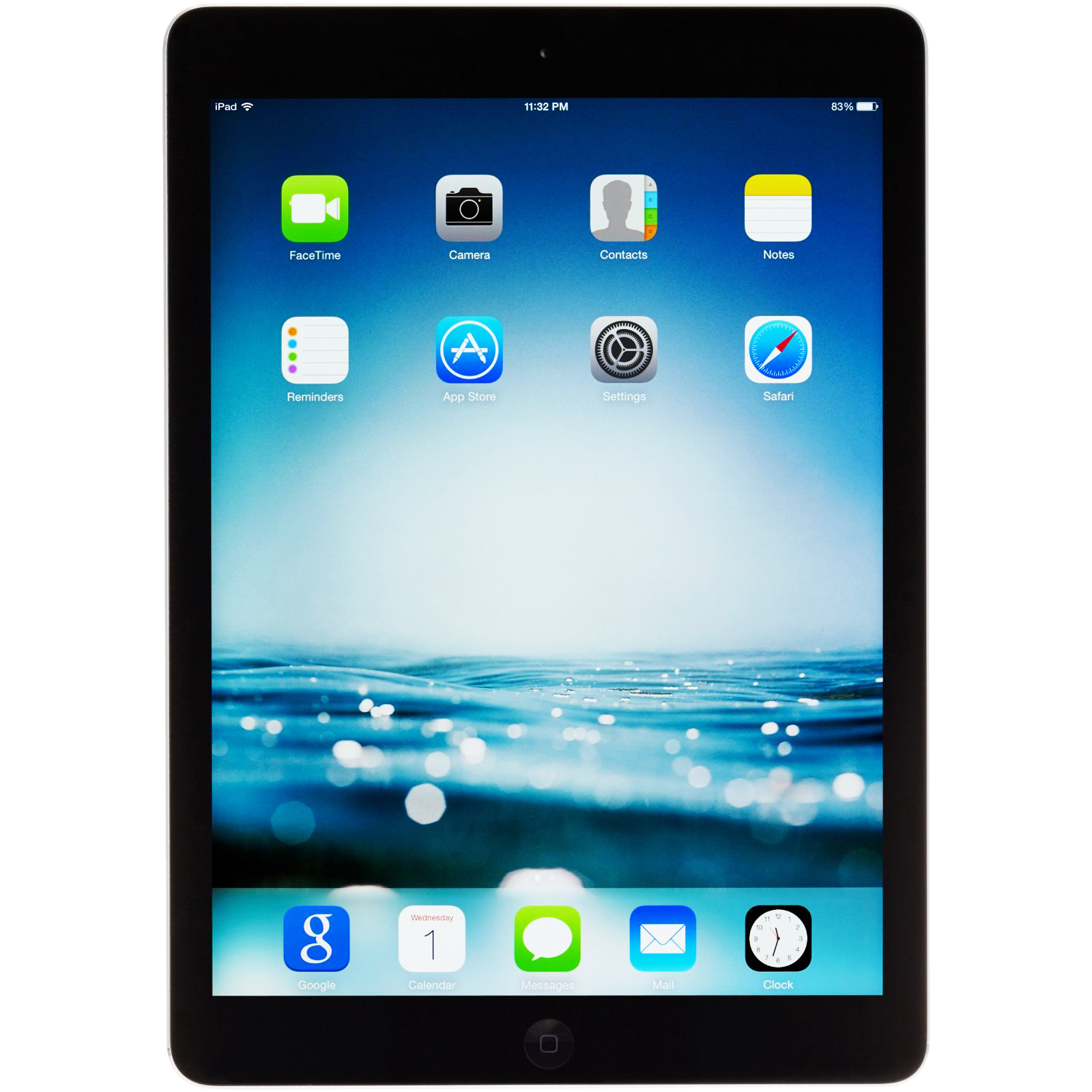 "Refurbished Apple iPad Air 16GB 9.7"" Touchscreen Retina Display Wi-Fi - Space Gray MD785LLA"
