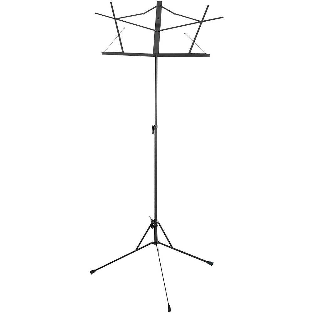 Musician's Gear Folding Music Stand Black by Musician's Gear