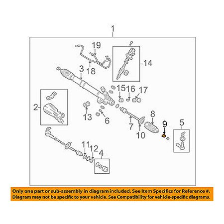 CHRYSLER OEM Steering Gear-Boot Bellows Clamp -