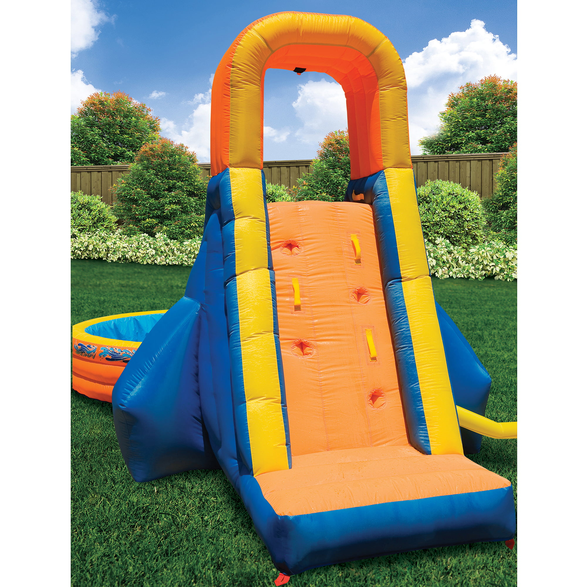Click here to buy Banzai The Plunge Inflatable Waterslide and Pool by Generic.