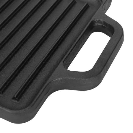 Ozark Trail 9 in Cast Iron Griddle (Reversible, 16.5 x 9 in)