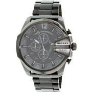 Diesel Men's Black Mega Chief Chronograph Watch DZ4355