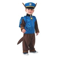 Paw Patrol Chase Toddler Costume, Small (4-6) Child Size