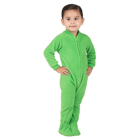 ce31533c73f3 Footed Pajamas - Footed Pajamas - Emerald Green Infant Fleece Onesie ...