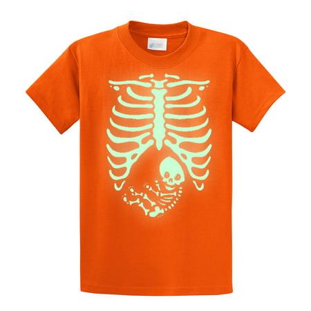 4e096abc96aed Trenz Shirt Company - Halloween T-Shirt Pregnant Skeleton Baby - Walmart.com