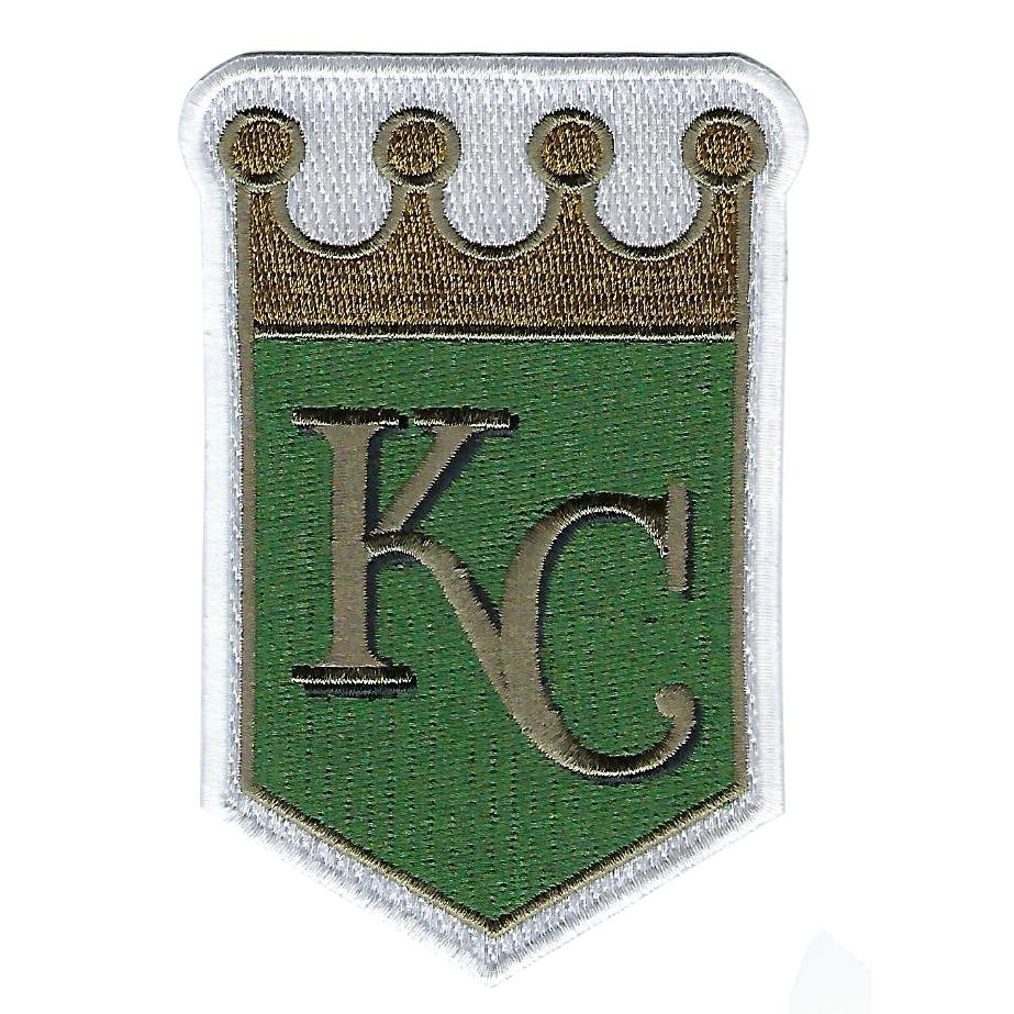 Kansas City Royals MLB 2018 Memorial Day USMC Logo Patch - No Size