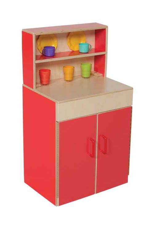 Kid's Play Kids Classic Deluxe Cabinet w Shelves by Wood Designs