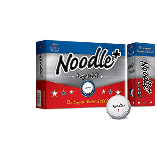 Noodle Plus Golf Balls, 1 Dozen