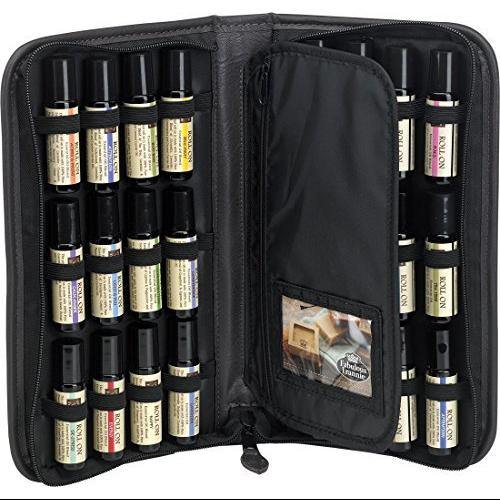 Essential Oil Roll On Presentation and Carry Case 24-Bottle (Empty)