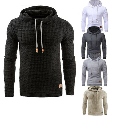 HOT SALE Men's Casual Hoodie Sweatshirt Hooded Coat Jacket Sweater Pullover Top