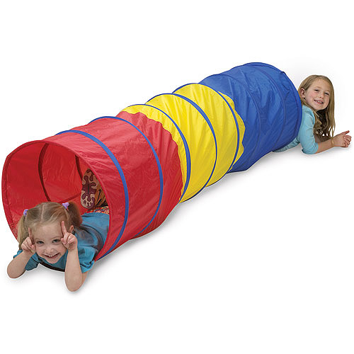 Pacific Play Tents Find-Me Multicolor Tunnel, 6'