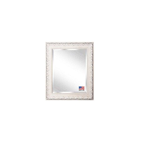 Rayne Mirrors French Victorian White Wall Mirror